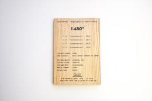 CD Cover Holz bedruckt