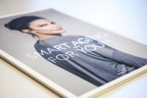 Broschüre Reviderm Cover Softtouch mit Heißfolie