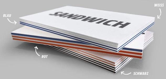Sandwich-Karton
